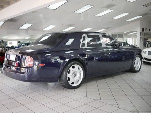 Rolls Roce rear 3/4