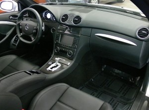 CLK 63 AMG Black Series Interior
