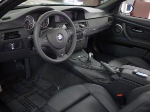 BMW M3 Interior- Driver