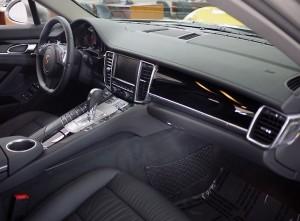 Porsche Panamera S Interior