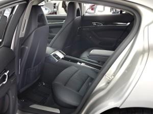 Porsche Panamera S Interior- rear