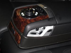 Rolls Royce Ghost Rear Seat Controls
