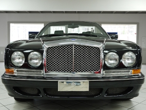 2001 Bentley Azure convertible front view