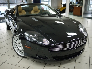 2008 used Aston Martin DB9 Volante Convertible Passenger Front View
