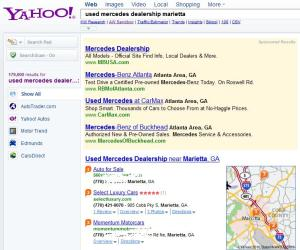 Yahoo local review of Select Luxury Cars Marietta GA