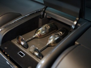2006 Maybach 57S Champagne Flutes View