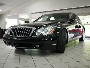 2006 Maybach 57S Driver Front View
