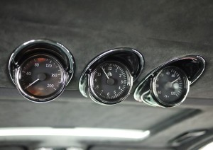 2006 Maybach 57S Gauges Closeup View