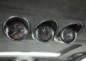 2006 Maybach 57S Gauges Closeup View