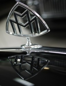 2006 Maybach 57S Hood Ornament Closeup View