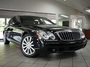 2006 Maybach 57S Passenger Front View