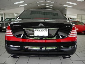 2006 Maybach 57S Rear View