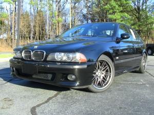 2003 BMW M5 Angle